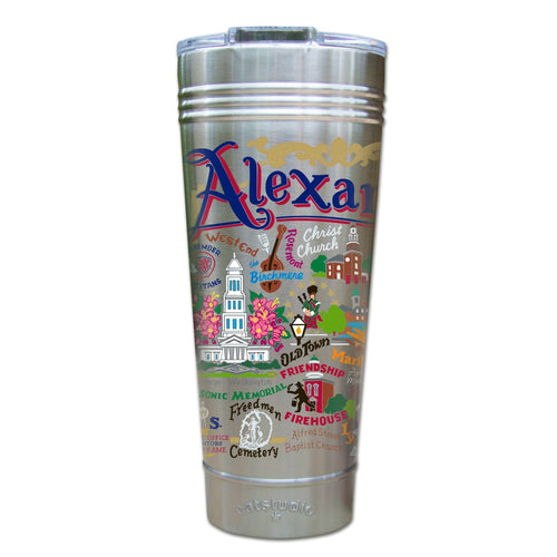 Alexandria Thermal Tumbler (Set of 4) - PREORDER Thermal Tumbler catstudio