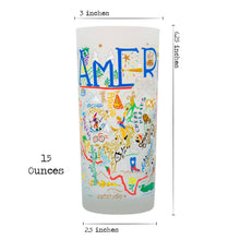 Load image into Gallery viewer, America Drinking Glass - catstudio