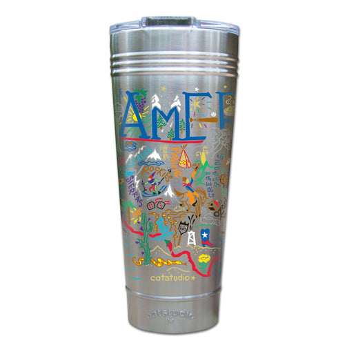 America Thermal Tumbler (Set of 4) - PREORDER Thermal Tumbler catstudio