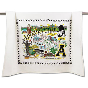Appalachian State University Collegiate Dish Towel Dish Towel catstudio