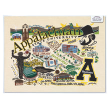 Load image into Gallery viewer, Appalachian State University Collegiate Fine Art Print - catstudio