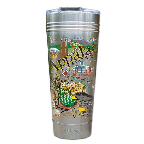Appalachian State University Collegiate Thermal Tumbler Thermal Tumbler catstudio
