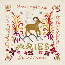 Load image into Gallery viewer, Aries Astrology Fine Art Print - catstudio