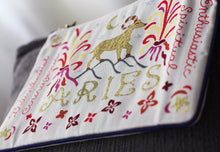 Load image into Gallery viewer, Aries Astrology Zip Pouch - catstudio