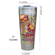 Load image into Gallery viewer, Arizona State University Collegiate Thermal Tumbler (Set of 4) - PREORDER Thermal Tumbler catstudio