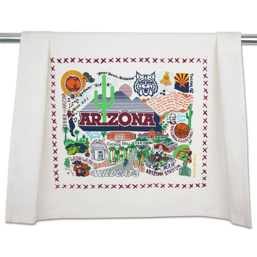 Arizona, University of Collegiate Dish Towel - catstudio