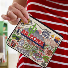 Load image into Gallery viewer, Arizona, University of Collegiate Zip Pouch - catstudio