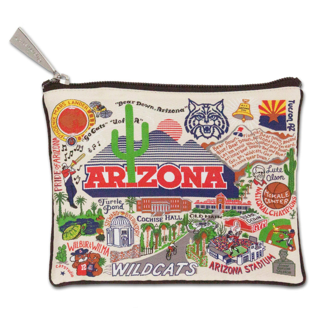 Arizona, University of Collegiate Zip Pouch - catstudio