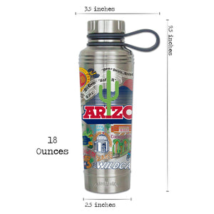 Arizona, University of Collegiate Thermal Bottle - catstudio