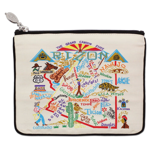 Arizona Zip Pouch - Natural - catstudio