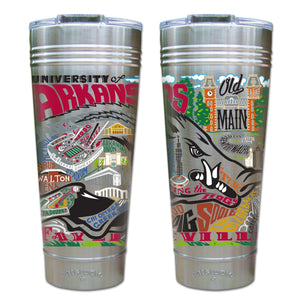 Arkansas, University of Collegiate Thermal Tumbler (Set of 4) - PREORDER Thermal Tumbler catstudio