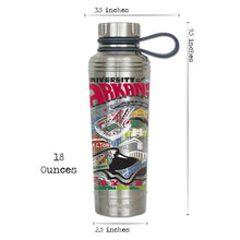 Load image into Gallery viewer, Arkansas, University of Collegiate Thermal Bottle - catstudio