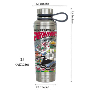 Arkansas, University of Collegiate Thermal Bottle - catstudio