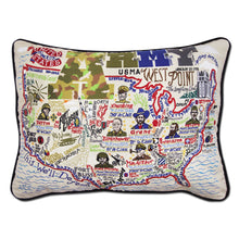 Load image into Gallery viewer, Army Embroidered Pillow - catstudio