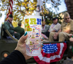 Army Drinking Glass - catstudio
