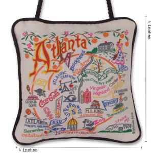 Atlanta Mini Pillow Ornament - catstudio