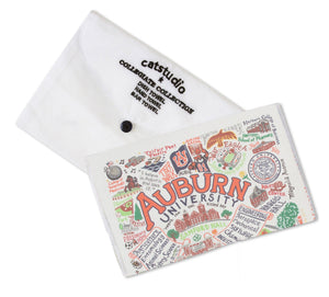 Auburn University Collegiate Dish Towel - catstudio