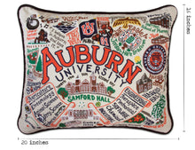 Load image into Gallery viewer, Auburn University Collegiate Embroidered Pillow - catstudio