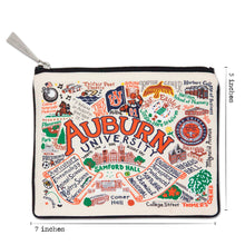 Load image into Gallery viewer, Auburn University Collegiate Zip Pouch - catstudio