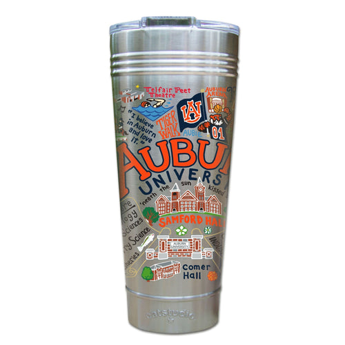 Auburn University Collegiate Thermal Tumbler (Set of 4) - PREORDER Thermal Tumbler catstudio
