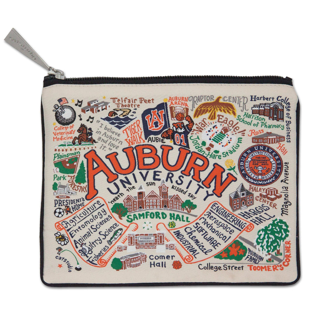 Auburn University Collegiate Zip Pouch - catstudio