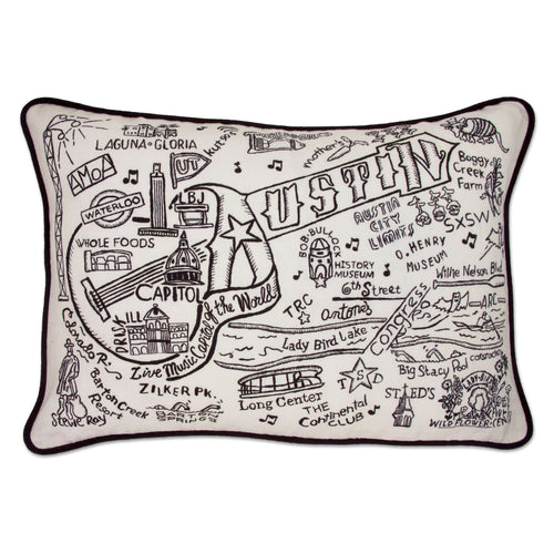 Austin Hand-Guided Machine Pillow - catstudio