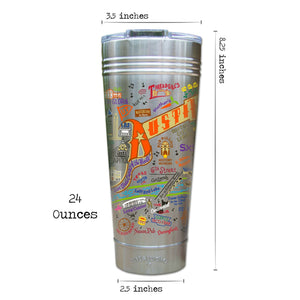 Austin Thermal Tumbler (Set of 4) - PREORDER Thermal Tumbler catstudio