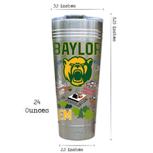 Load image into Gallery viewer, Baylor University Collegiate Thermal Tumbler (Set of 4) - PREORDER Thermal Tumbler catstudio