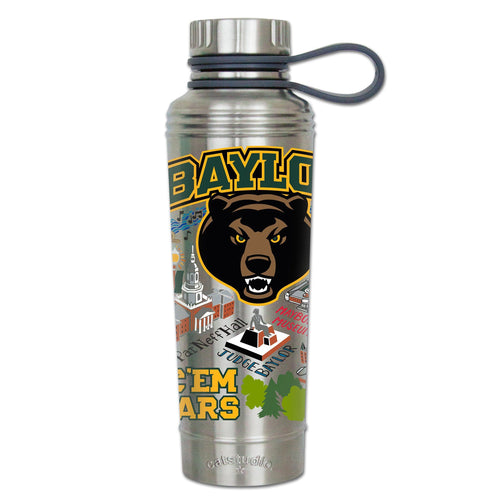 Baylor University Collegiate Thermal Bottle - catstudio