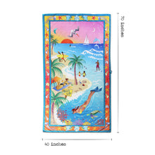 Load image into Gallery viewer, Beach Life Beach & Travel Towel Beach & Travel Towels catstudio