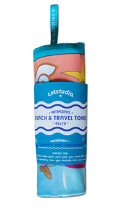 Beach Life Beach & Travel Towel Beach & Travel Towels catstudio