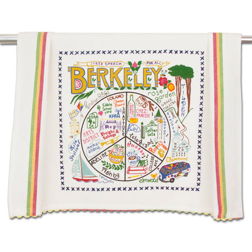 Berkeley Dish Towel - catstudio