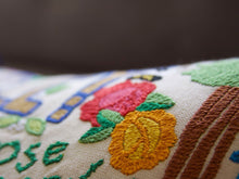 Load image into Gallery viewer, Berkeley Hand-Embroidered Pillow - catstudio