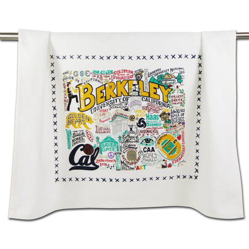 Berkeley, UC (Cal) Collegiate Dish Towel - catstudio