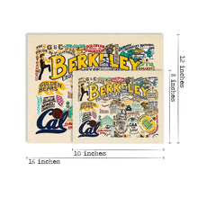 Load image into Gallery viewer, Berkeley, UC (Cal) Collegiate Fine Art Print Art Print catstudio