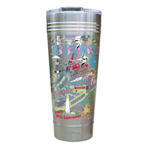 Bermuda Thermal Tumbler (Set of 4) - PREORDER Thermal Tumbler catstudio