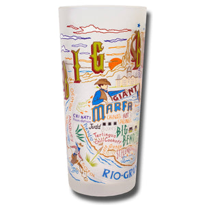 Big Bend Drinking Glass - catstudio