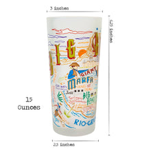 Load image into Gallery viewer, Big Bend Drinking Glass - catstudio