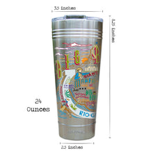 Load image into Gallery viewer, Big Bend Thermal Tumbler (Set of 4) - PREORDER Thermal Tumbler catstudio