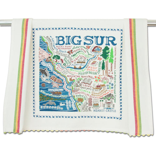 Big Sur Dish Towel - catstudio