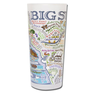 Big Sur Drinking Glass - catstudio