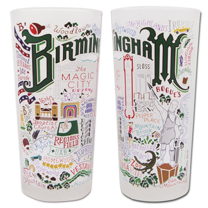 Birmingham Drinking Glass - catstudio