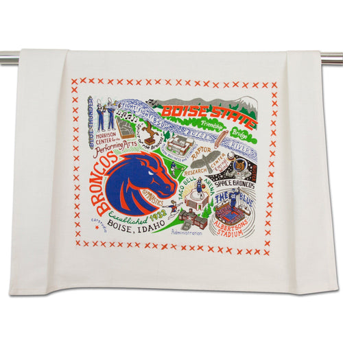 Boise State University Collegiate Dish Towel - catstudio