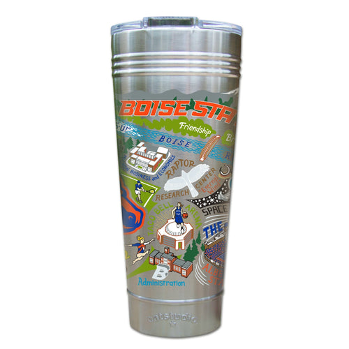 Boise State University Collegiate Thermal Tumbler (Set of 4) - PREORDER Thermal Tumbler catstudio