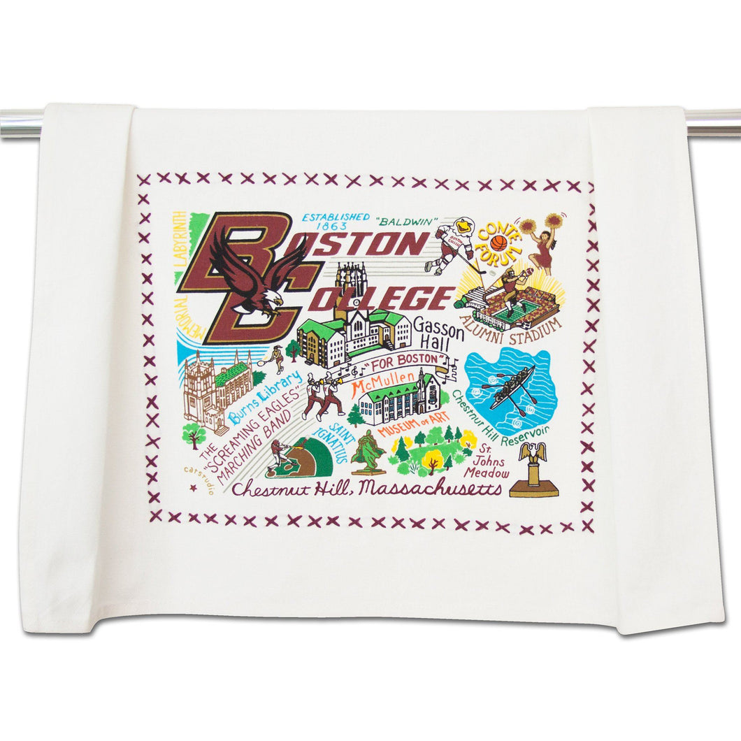 Boston College Collegiate Dish Towel - catstudio