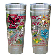 Load image into Gallery viewer, Boston College Collegiate Thermal Tumbler (Set of 4) - PREORDER Thermal Tumbler catstudio