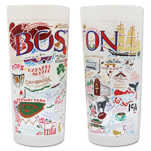 Boston Drinking Glass - catstudio