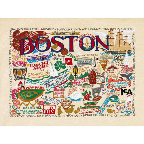 Boston Fine Art Print - catstudio