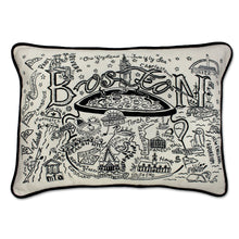 Load image into Gallery viewer, Boston Hand-Guided Machine Pillow - catstudio