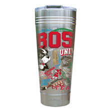 Load image into Gallery viewer, Boston University Collegiate Thermal Tumbler (Set of 4) - PREORDER Thermal Tumbler catstudio